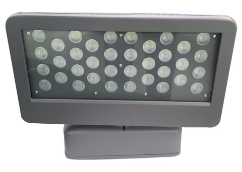50W Outdoor Rated Aluminum LED Flood Light 5000K White 5500 Lumens IP67