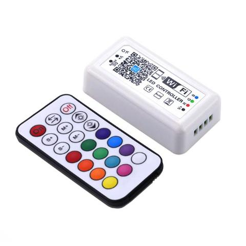 RGB-WIFI DC 12V 24V WIFI RGB Controller For SMD 5050 RGB LED Strip 12A