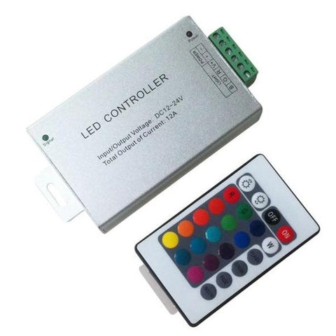 NB-12ARGB DC 12V 24V 12A RF Wireless Remote RGB Controller