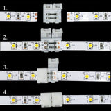 LED Strip Accessories - 3528 Snap On InLine Splice For LED Strips (Pack Of 10)