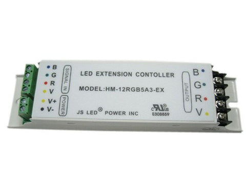 LED Strip Accessories ~ RGB LED Strip Accessories ~ 110V RGB Accessories - Nova Bright 12-24V RGB LED Extension Controller