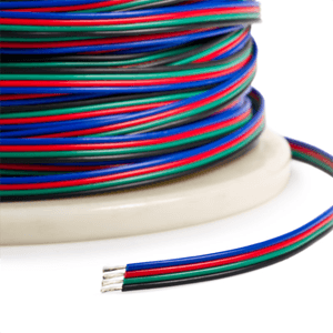 LED Strip Accessories ~ RGB LED Strip Accessories ~ RGB LED Connectors - RGB Color Changing Wire