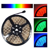 NovaBright 24V 5050SMD Color Changing RGB Super Bright LED Strip Light 16 Ft Reel 300 LEDs Kit| IP Rating| IP65 (Waterproof)