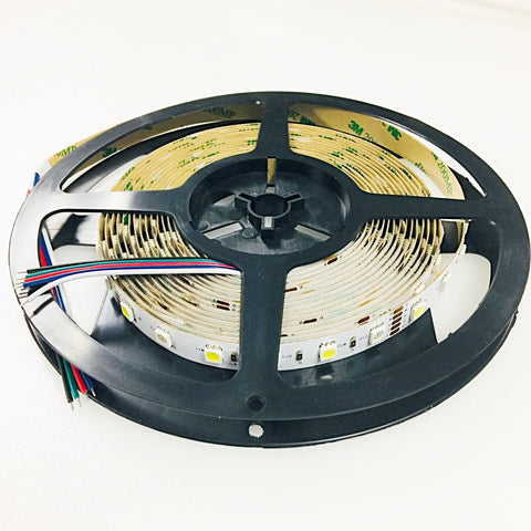 NovaBright RGBW-12VIP20A 5050SMD RGBW Alternating RGB+W IP20 Non Waterproof LED Light Strip 12V