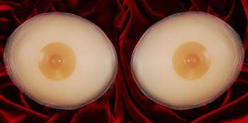 Breast Inserts with Perky Nipple