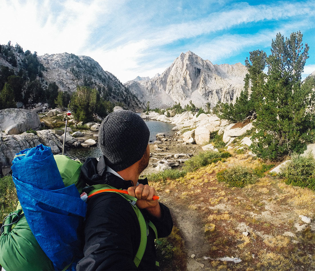 Gopro Hero camping photos