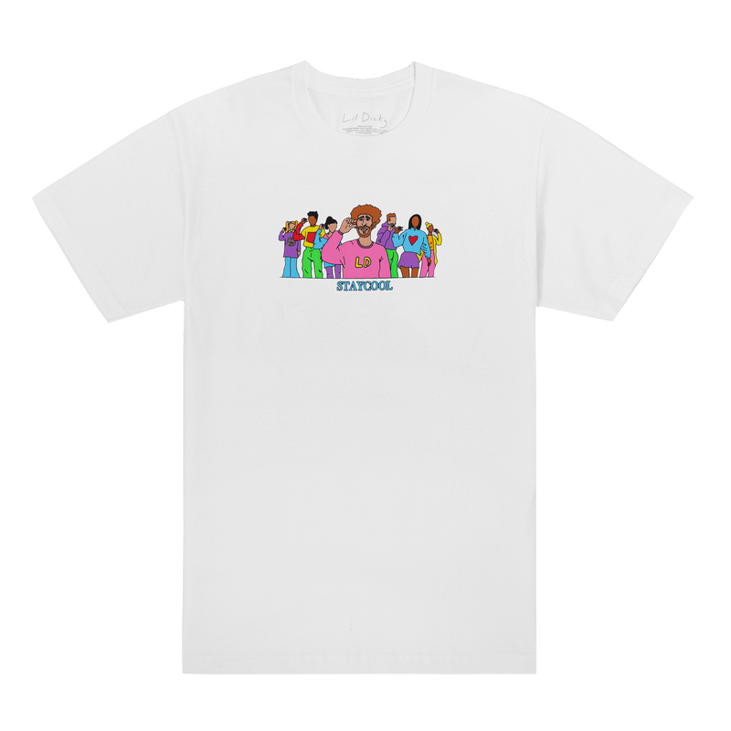 Lil Dicky X STAYCOOLNYC Crowd Tee
