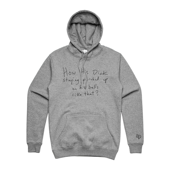 Perched Hoodie Heather Grey
