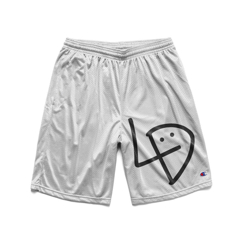 Signature White Basketball Shorts