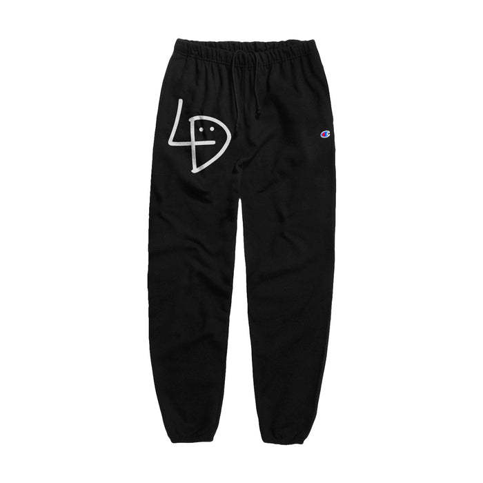 Signature Black Sweatpants