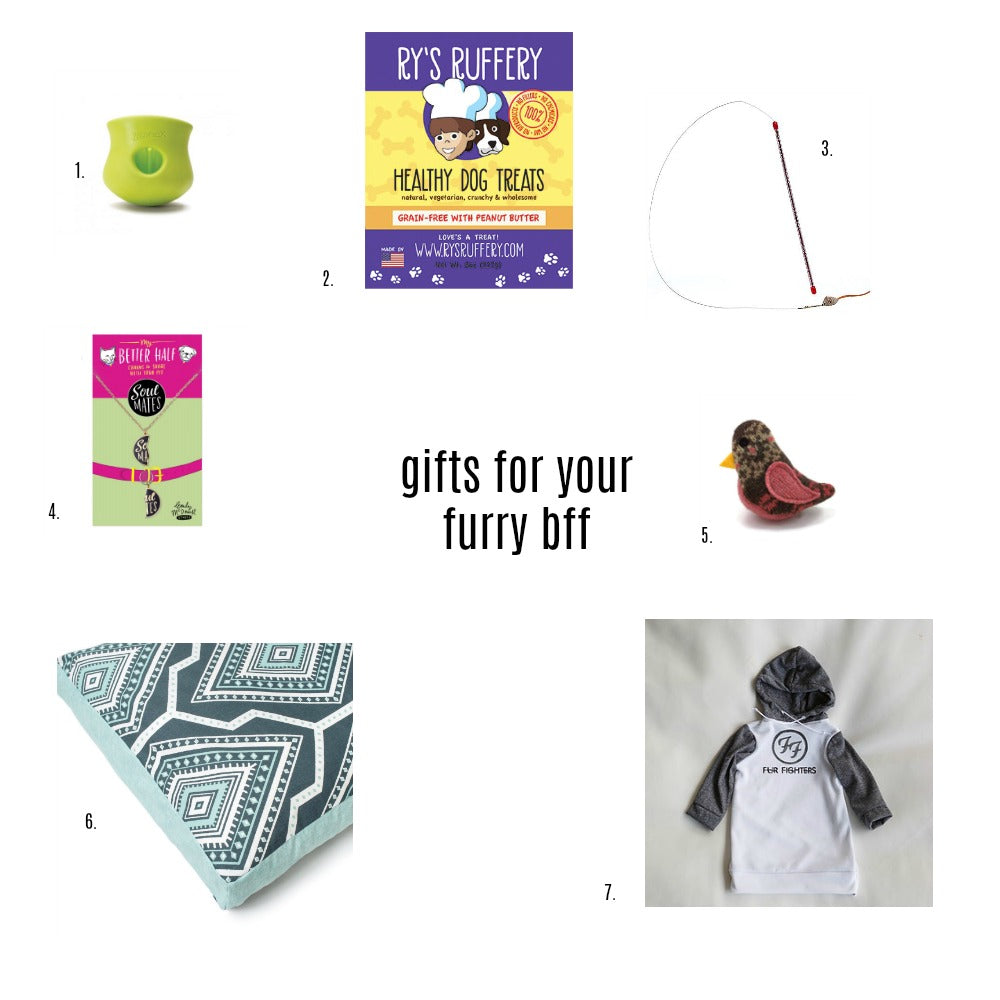 Gifts for your furry BFF