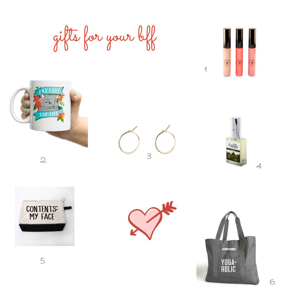 Gifts for your BFF for Valentine's Day