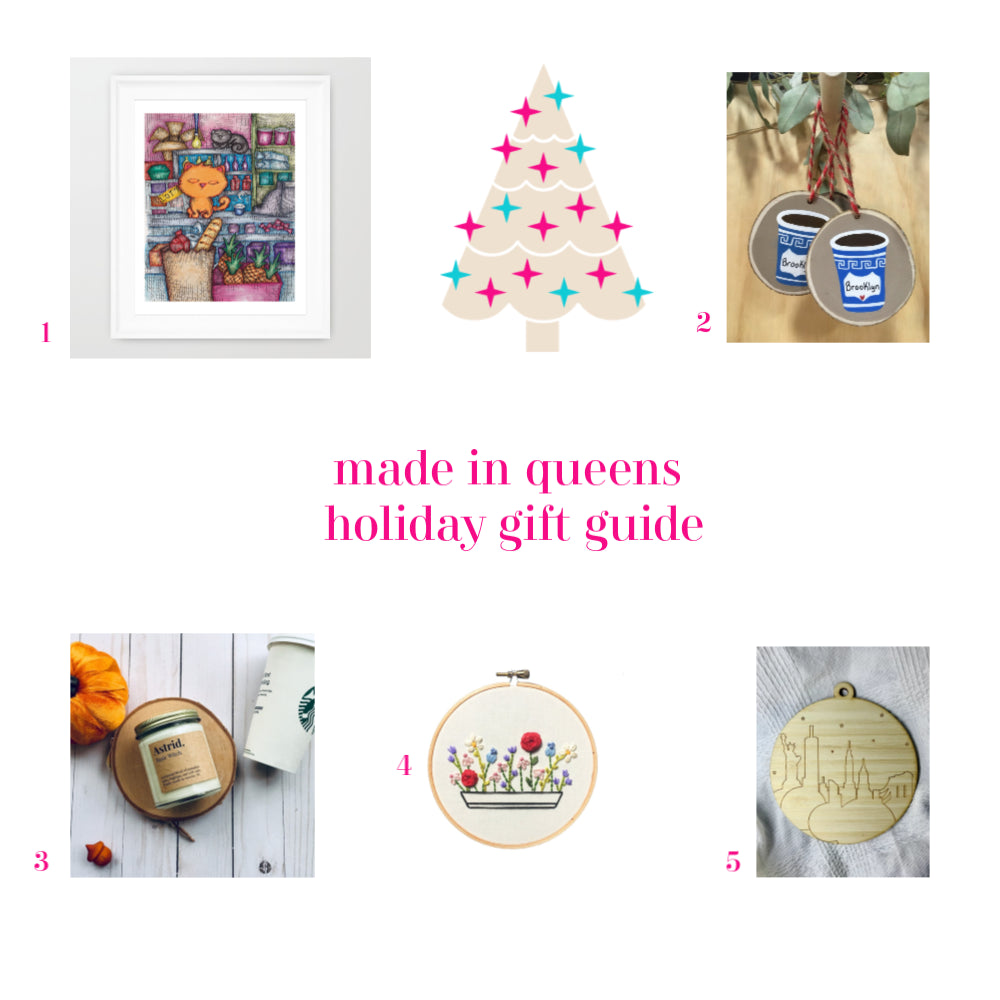 Made in Queens Gift Ideas
