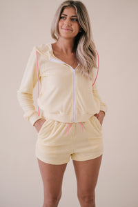 Khloe Lightweight Cream Linen Pants