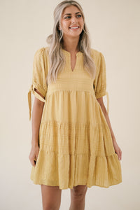 Fabiola Sleeveless Pleated Mini Dress (White)