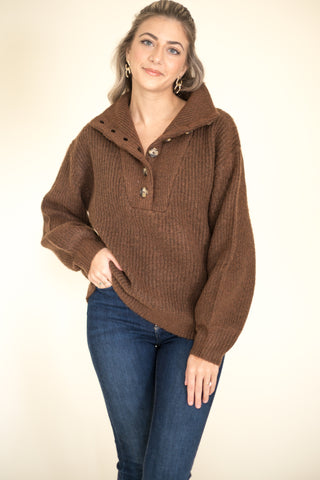 Pearl Chain Drop Hoop Earrings