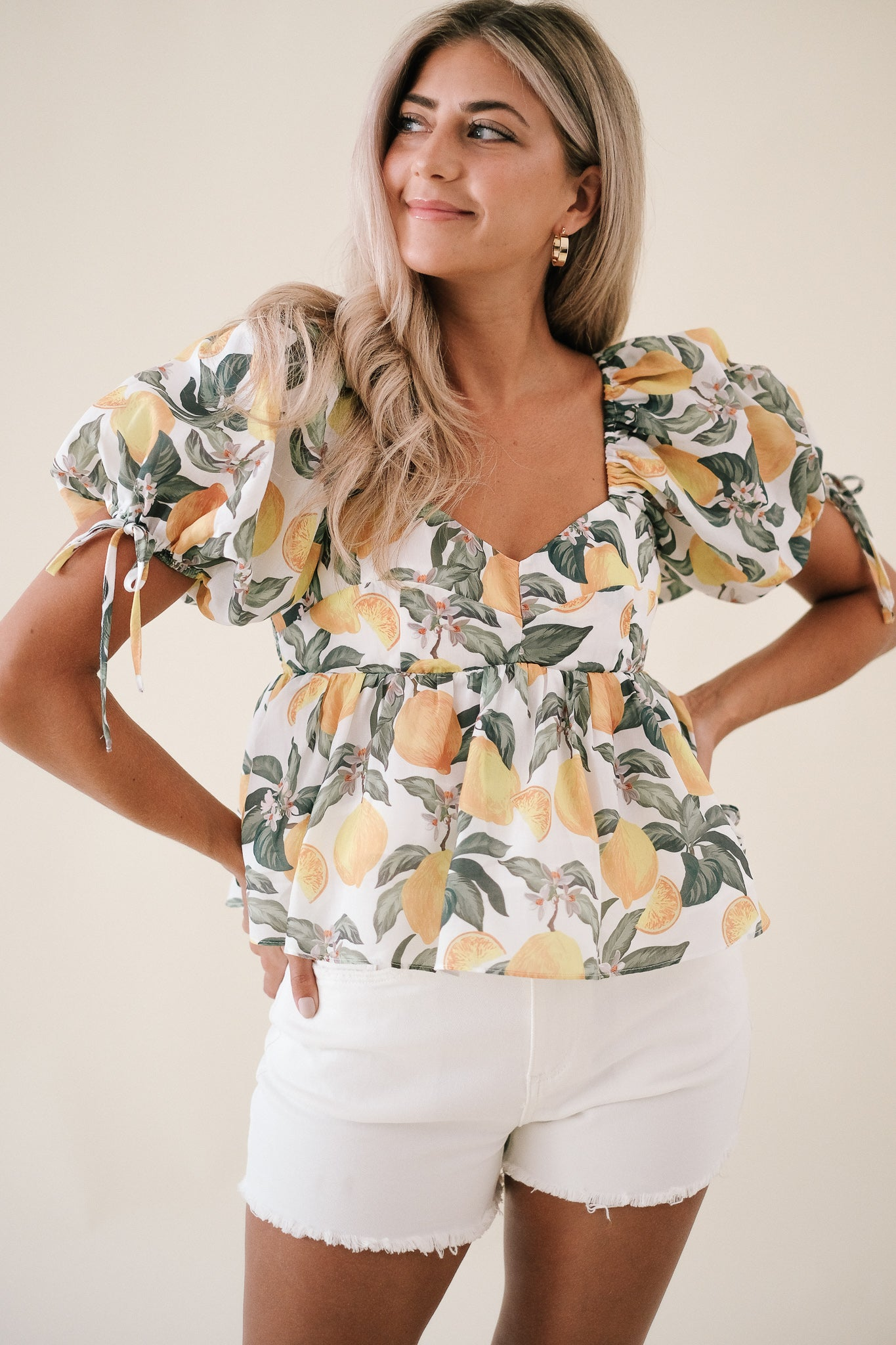 Alexandria Sheer Mohair Top