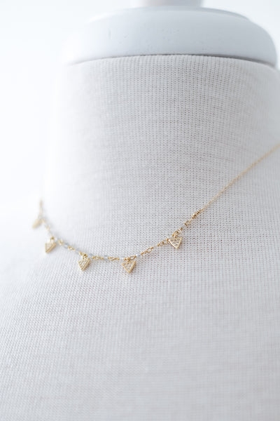 Grey Area Gold Necklace (Two Options)