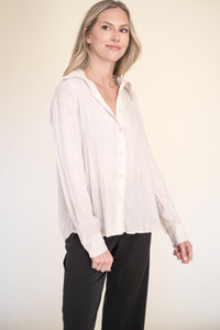 Gina Knit Oatmeal Sweater Set (Top)