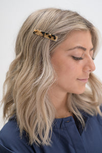Light Tortoise Simple Hair Clip