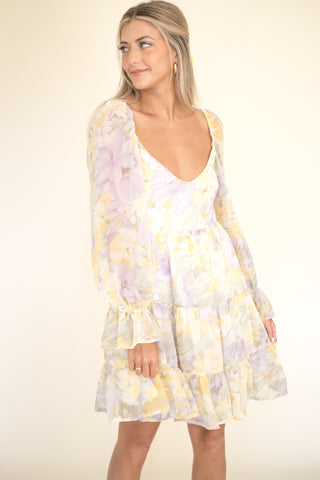 Retro Smooth Acrylic Hair Clips (Chartreuse)