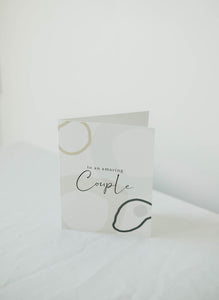 An Amazing Couple Card