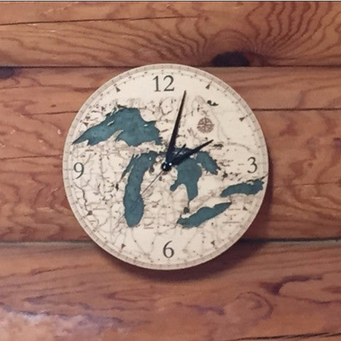 Great Lakes Clock