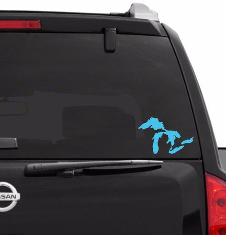 Great Lakes Car Decal | Great Lakes Sticker | Great Lakes Vinyl