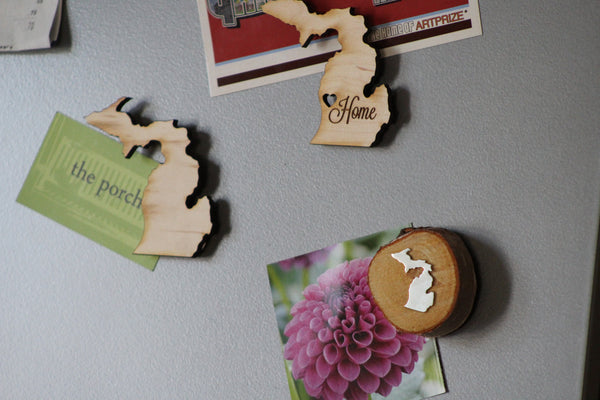 Michigan Home Magnet