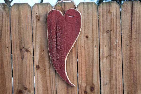Barn Wood Heart Sign