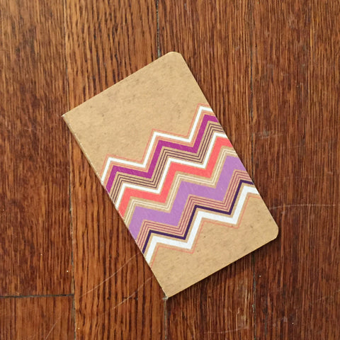 Chevron Mini Notebook