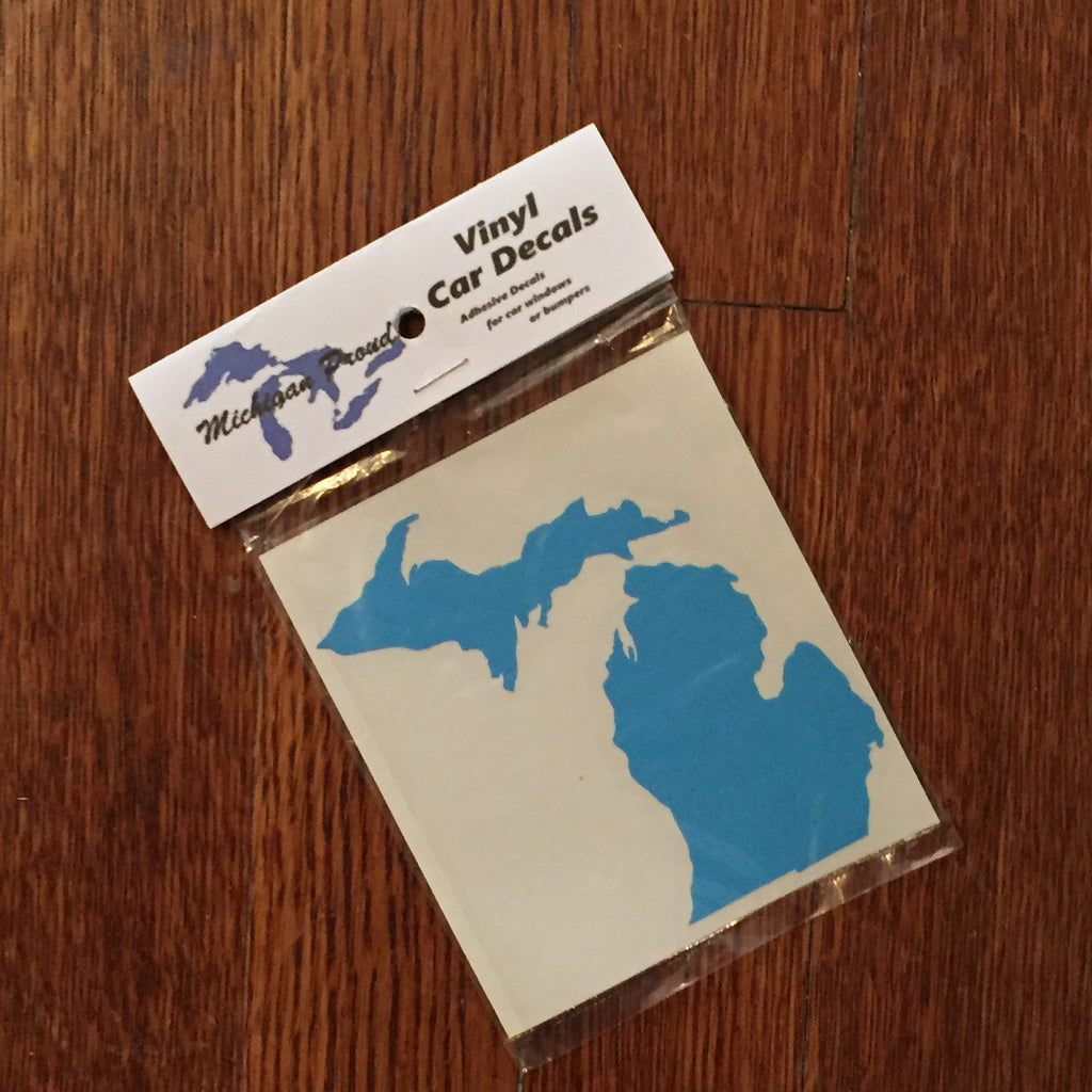 Michigan Decal - State Outline