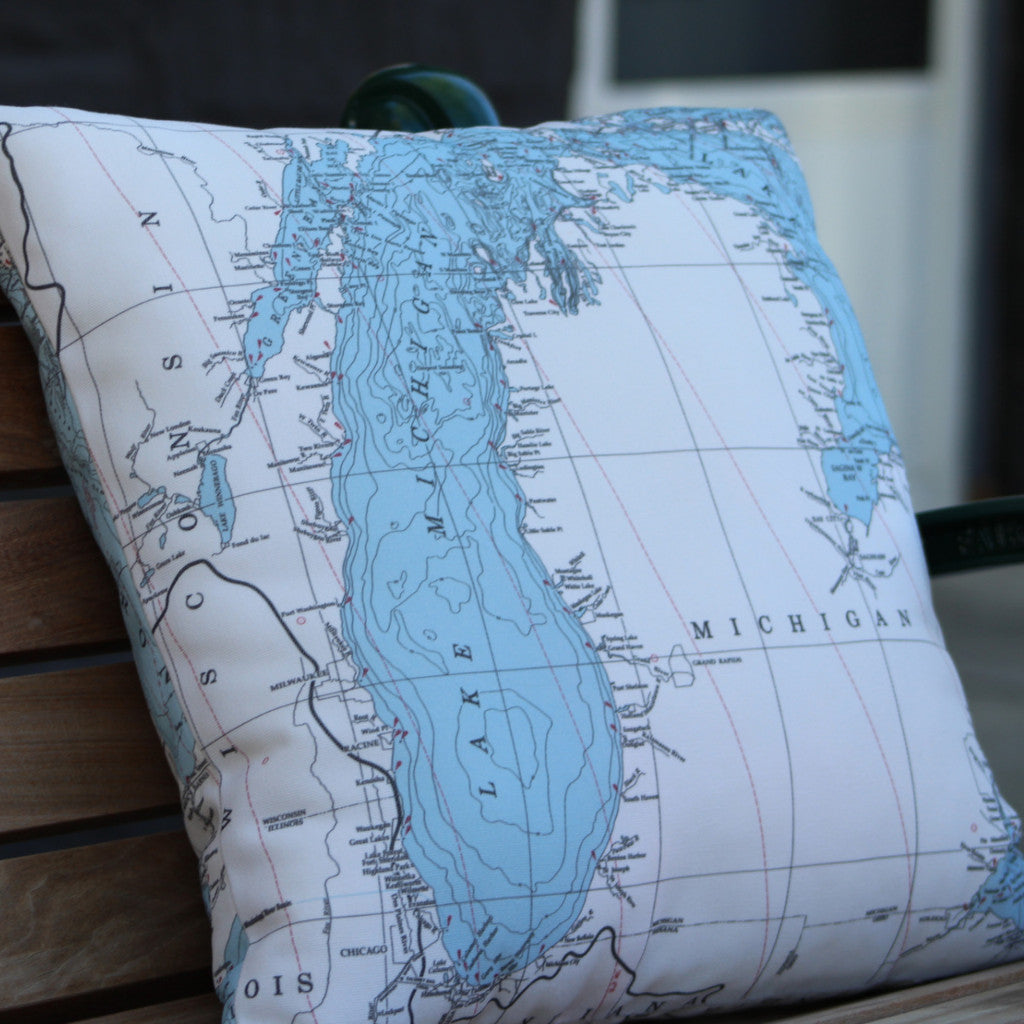 Lake Michigan Pillow