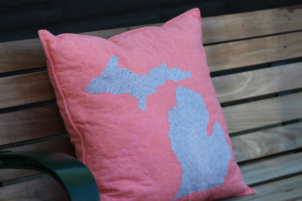 Michigan Throw Pillow