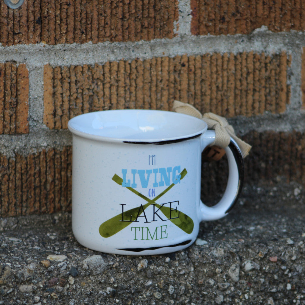 I'm Living on Lake Time Mug