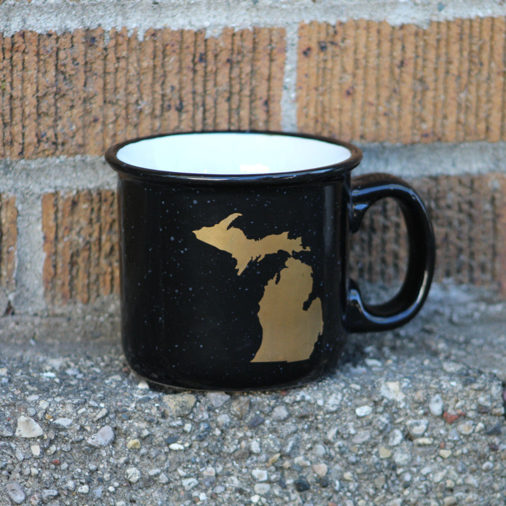 Michigan Campfire Mug
