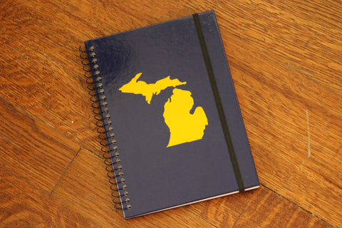 Michigan Notebook - Maize & Blue