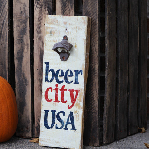 Beer City USA Bottle Opener - Grand Rapids