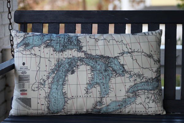 Great Lakes Pillow - Full Size