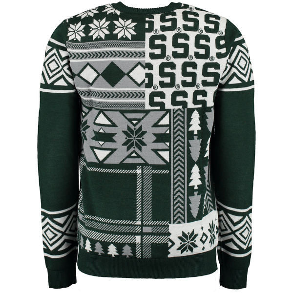 Michigan State MSU Spartans Ugly Christmas Sweater
