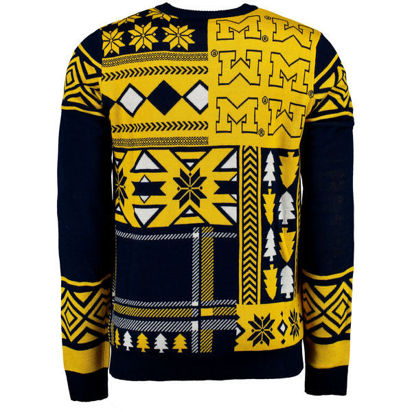 35b66f6c28221 Michigan Wolverines Ugly Christmas Sweater · Michigan Wolverines Ugly  Christmas Sweater
