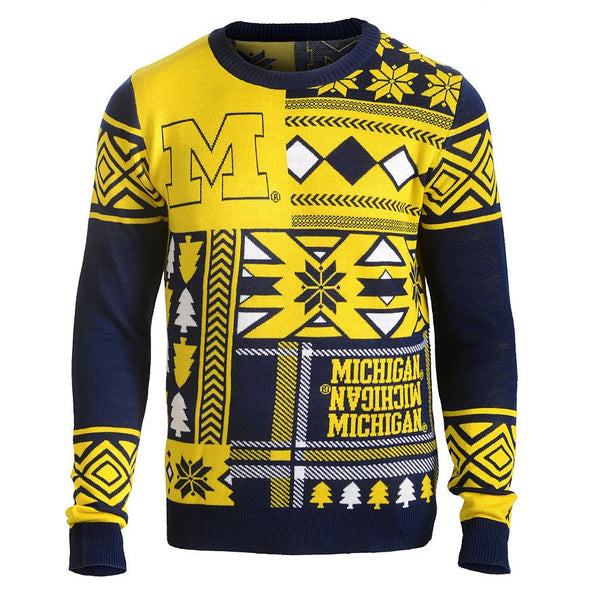 Michigan Wolverines Ugly Christmas Sweater