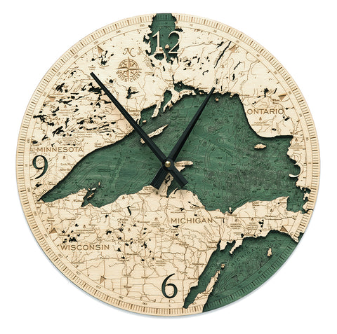 Lake Superior Clock