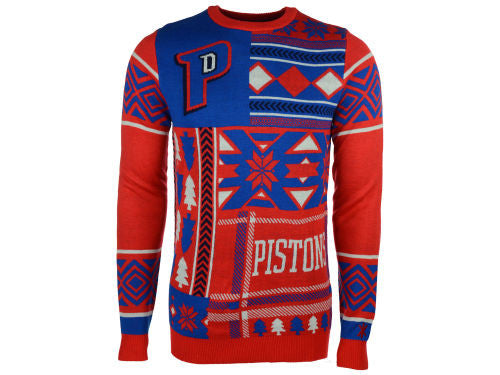 Detroit Pistons Ugly Christmas Sweater
