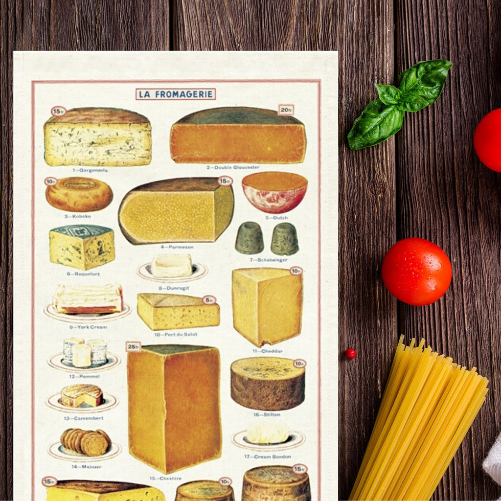 Cheese Kitchen Towel