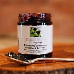 Blueberry Preserves with Pinot Noir & Lavender