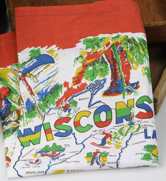 Wisconsin Tea Towel