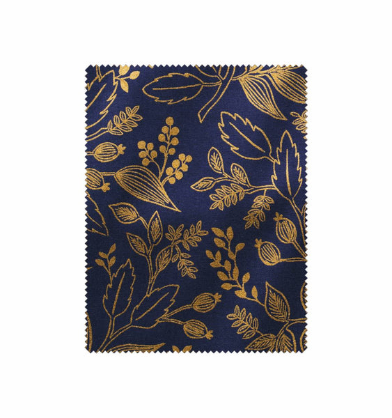 Rifle Paper Co. Fabric Hoop - Queen Anne (Navy)