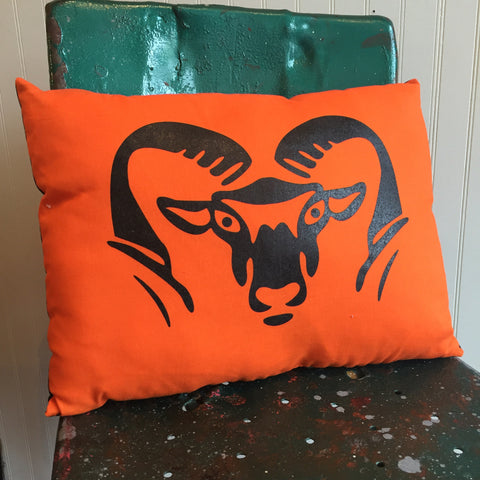 Rockford Rams Pillow