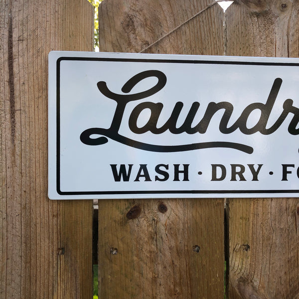 Laundry Co Sign